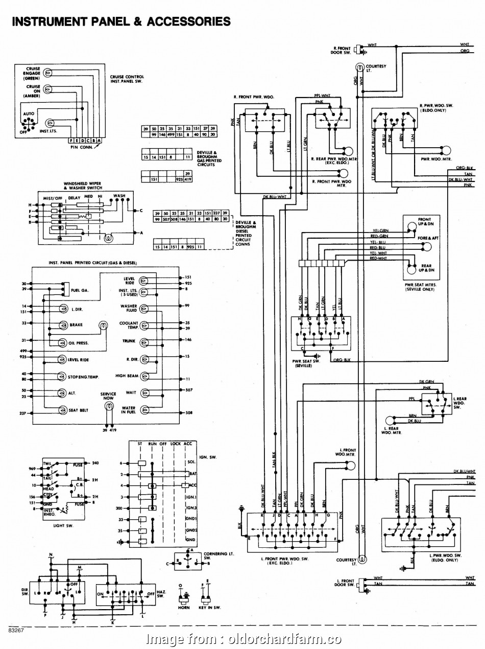 03 Cadillac  Starter Wiring Diagram New 2003 Cadillac  Wiring Diagram Well Detailed Wiring