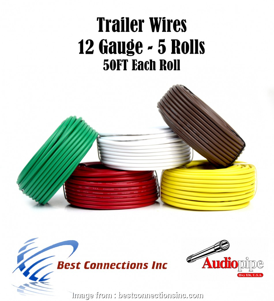 12 gauge 5 wire 5, Trailer Wire Light Cable, Harness 50 FT Each Roll 12 Gauge 5 Colors 11 Best 12 Gauge 5 Wire Solutions