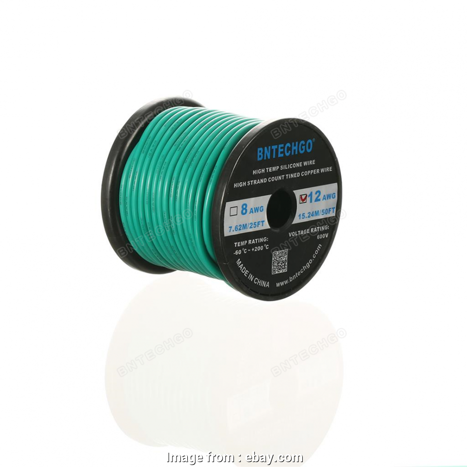 12 gauge 600v wire Details about 12 Gauge Flexible Silicone Wire Green 50 feet 600V, deg C Tinned Copper Wire 17 Best 12 Gauge 600V Wire Ideas