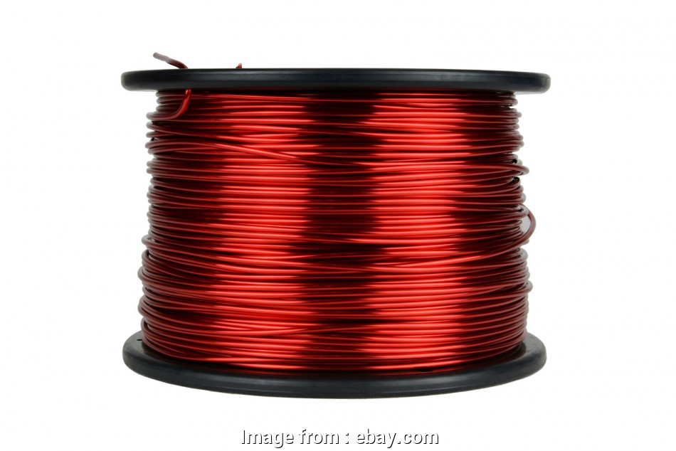 12 gauge wire ebay Details about TEMCo Magnet Wire 12, Gauge Enameled Copper 10lb 155C 500ft Coil Winding 9 Perfect 12 Gauge Wire Ebay Photos