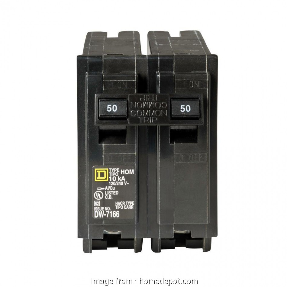 12 gauge wire with 30 amp breaker Square D Homeline 50, 2-Pole Circuit Breaker 18 New 12 Gauge Wire With 30, Breaker Ideas
