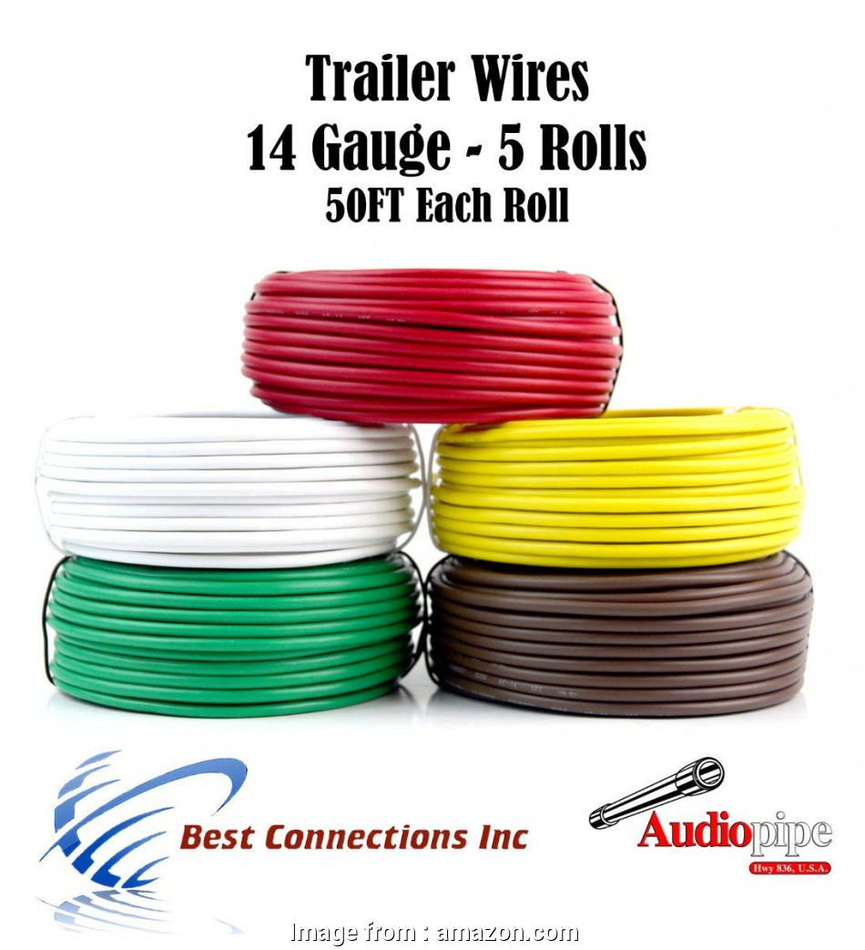 14 gauge 5 wire cable Amazon.com: Trailer Light Cable Wiring, Harness 50ft spools 14 Gauge 5 Wire 5 colors: Everything Else 8 Practical 14 Gauge 5 Wire Cable Pictures