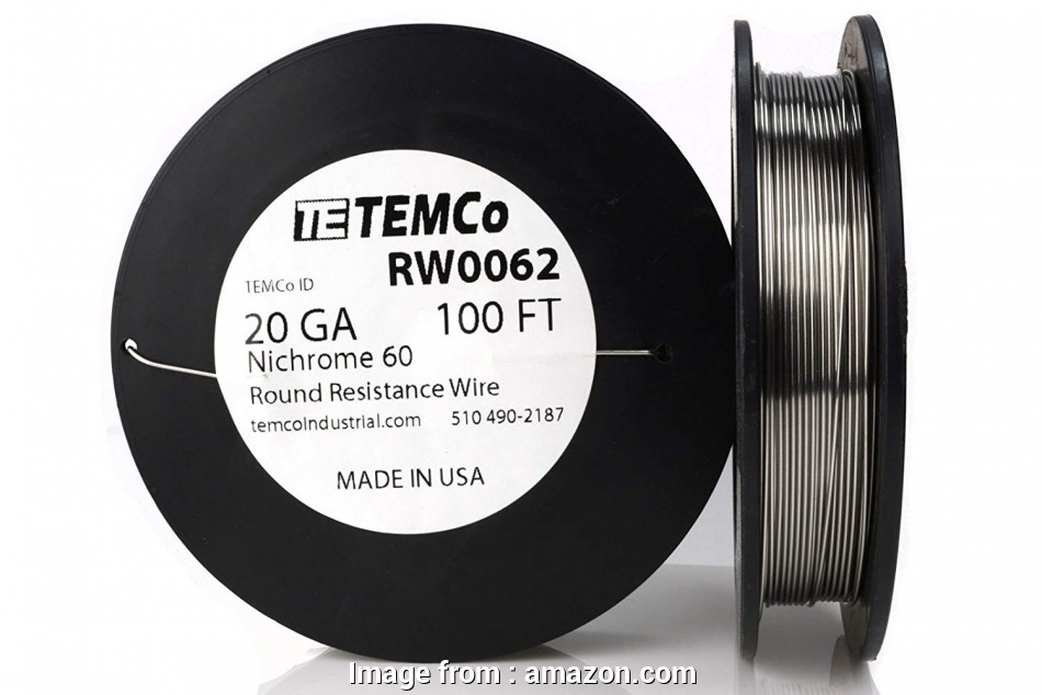 14 gauge nichrome wire TEMCo Nichrome 60 series wire 20 Gauge 8 oz (173, Resistance, ga, Amazon.com 12 New 14 Gauge Nichrome Wire Ideas