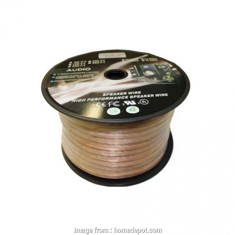 14 gauge speaker wire 500 ft null Electronic Master, ft., Stranded Speaker Wire 12 Brilliant 14 Gauge Speaker Wire, Ft Images