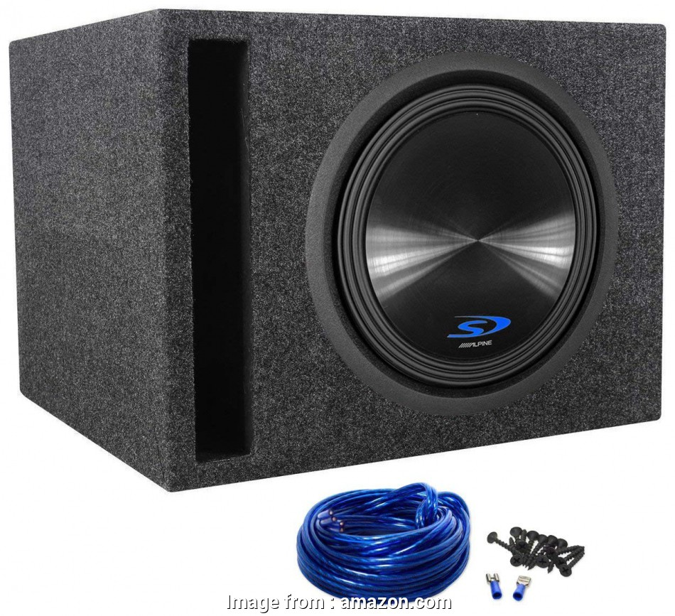 """14 gauge wire for subwoofer ... SWS-12D2, 1500 Watt Dual 2-Ohm, Subwoofer + Rockville RSV12 Single 12"""" Vented Subwoofer Enclosure +, Box Wire, With 14 Gauge Speaker Wire + 14 Perfect 14 Gauge Wire, Subwoofer Ideas"""