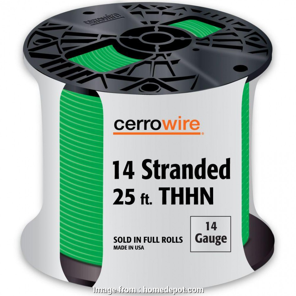 14 gauge wire thhn Cerrowire 25, 14-Gauge Green Stranded THHN Wire 20 Nice 14 Gauge Wire Thhn Galleries