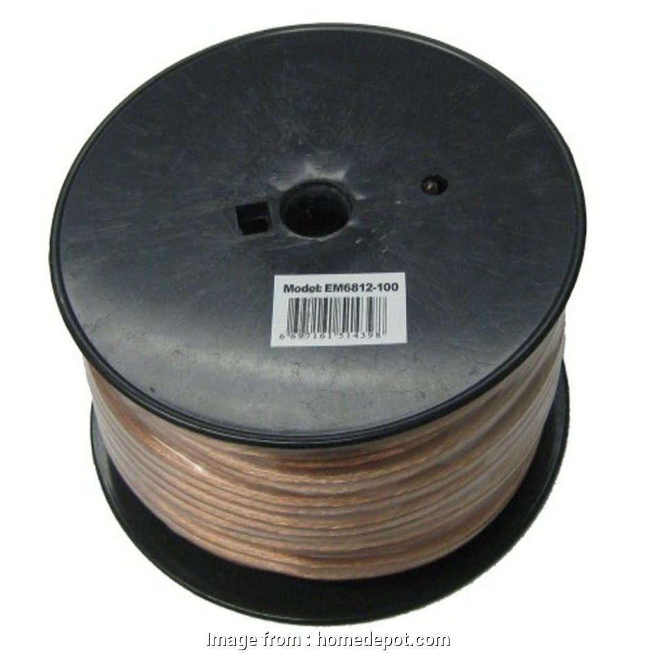 16-12 gauge speaker wire Electronic Master, ft. 12-2 Stranded Speaker Wire 11 Popular 16-12 Gauge Speaker Wire Photos