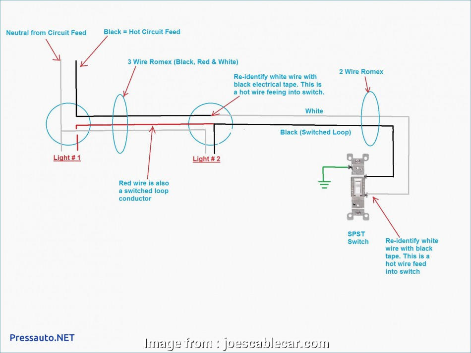 2 black and 1 red wire light switch Light Switch Wiring Diagram, Black White Inspirational Wiring Lights Diagram Wiring Diagrams 10 Cleaver 2 Black, 1, Wire Light Switch Galleries