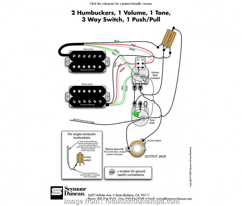 2 Humbucker 3  Switch Guitar Wiring Brilliant Circuit