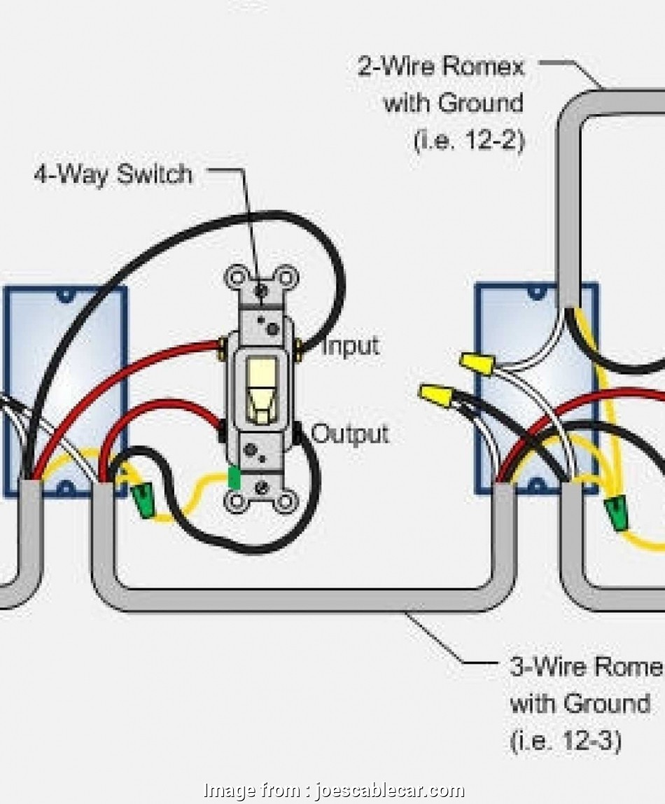 Wiring Diagram Gallery  4 Gang 2 Way Light Switch Wiring