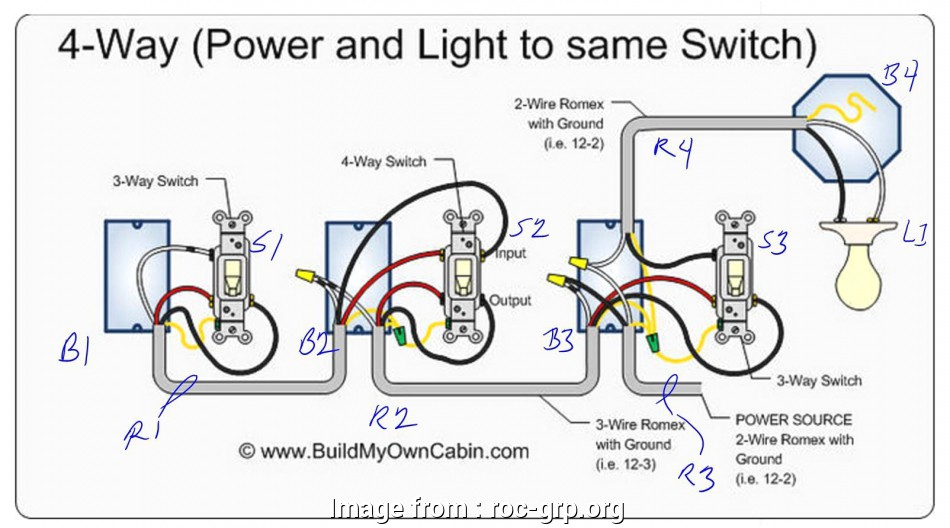 2, Light Switch Wiring Youtube Por 4, Light Switch ... on