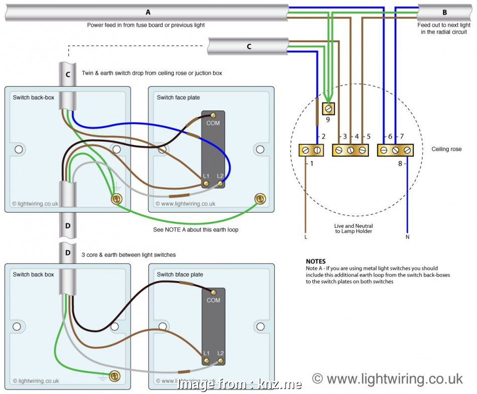 2  Switch Wiring Diagram Multiple Lights Cleaver Wiring Multiple Lights  Switches On  Circuit
