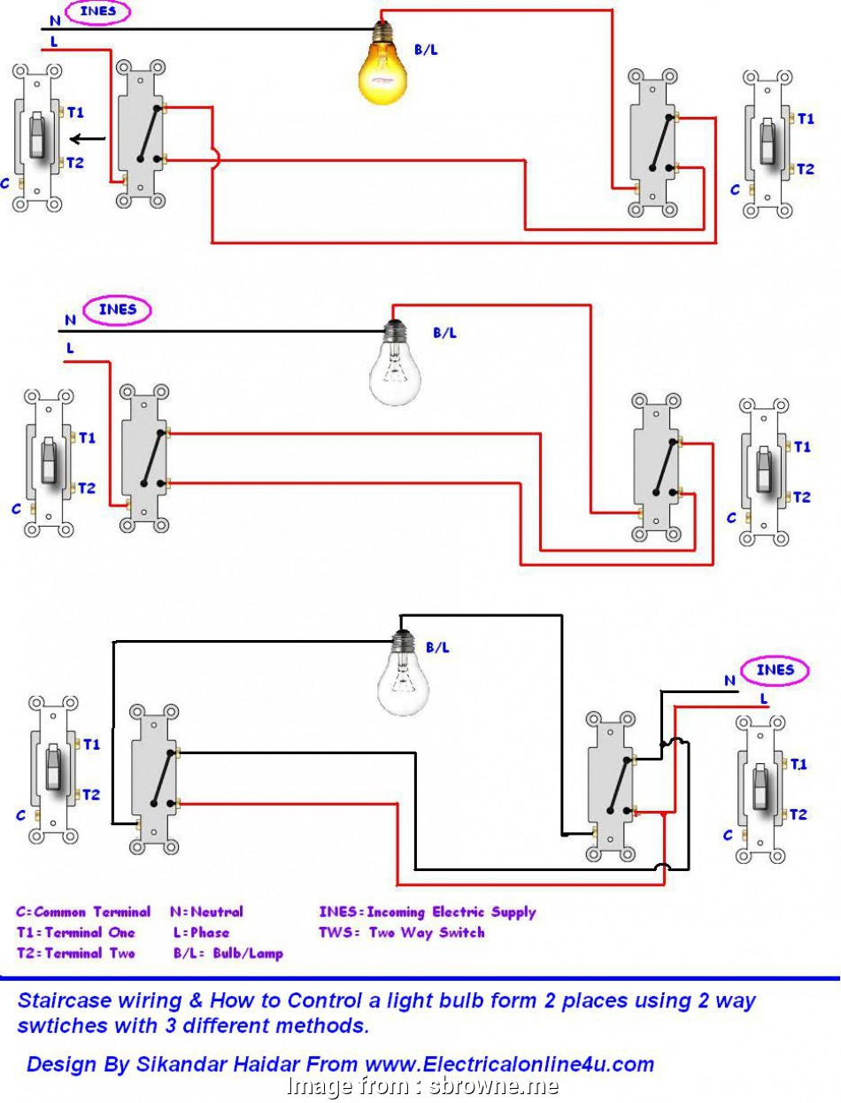 2 way switch wiring home Wiring Diagrams 2, Light Switch Lighting Diagram With Switching 14 Nice 2, Switch Wiring Home Pictures