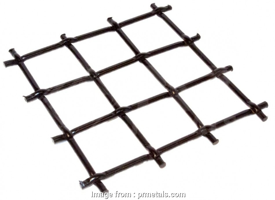2 woven wire mesh Carbon Steel Woven Wire Mesh, 1-1/2