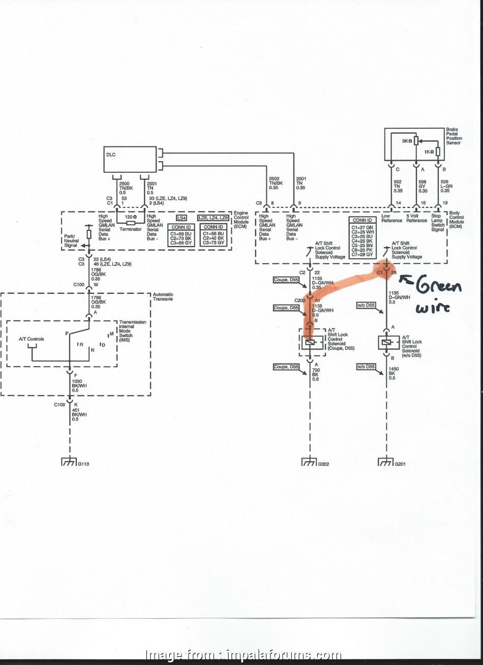 2006 Chevy Impala Starter Wiring Diagram Top Click Image  Larger Version Name  Green White Wire