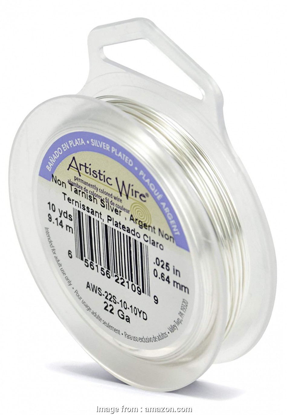 22 gauge artistic wire Amazon.com: Artistic Wire 22-Gauge Tarnish Resistant Silver Wire, 10-Yard 18 Practical 22 Gauge Artistic Wire Images