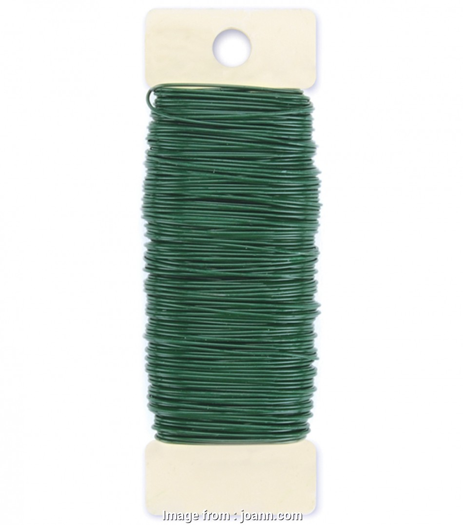 22-gauge green florist wire Panacea Products 22 Gauge Green Paddle Wire-1/4 lbs 20 Nice 22-Gauge Green Florist Wire Collections