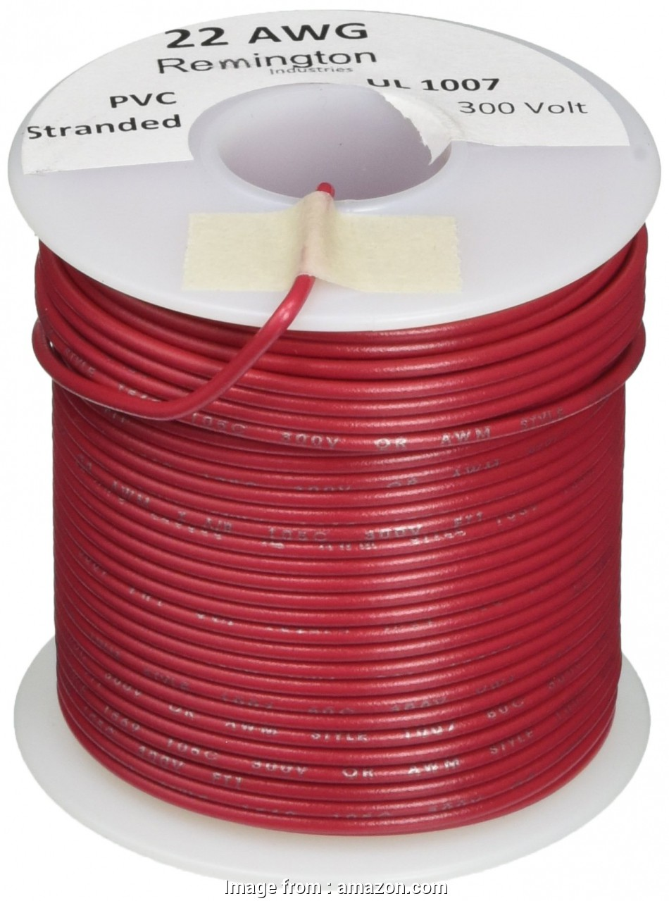 22 gauge stranded wire current Remington Industries 22UL1007STRRED UL1007 22, Gauge Stranded Hook-Up Wire, 300V, 0.0253 20 Popular 22 Gauge Stranded Wire Current Photos