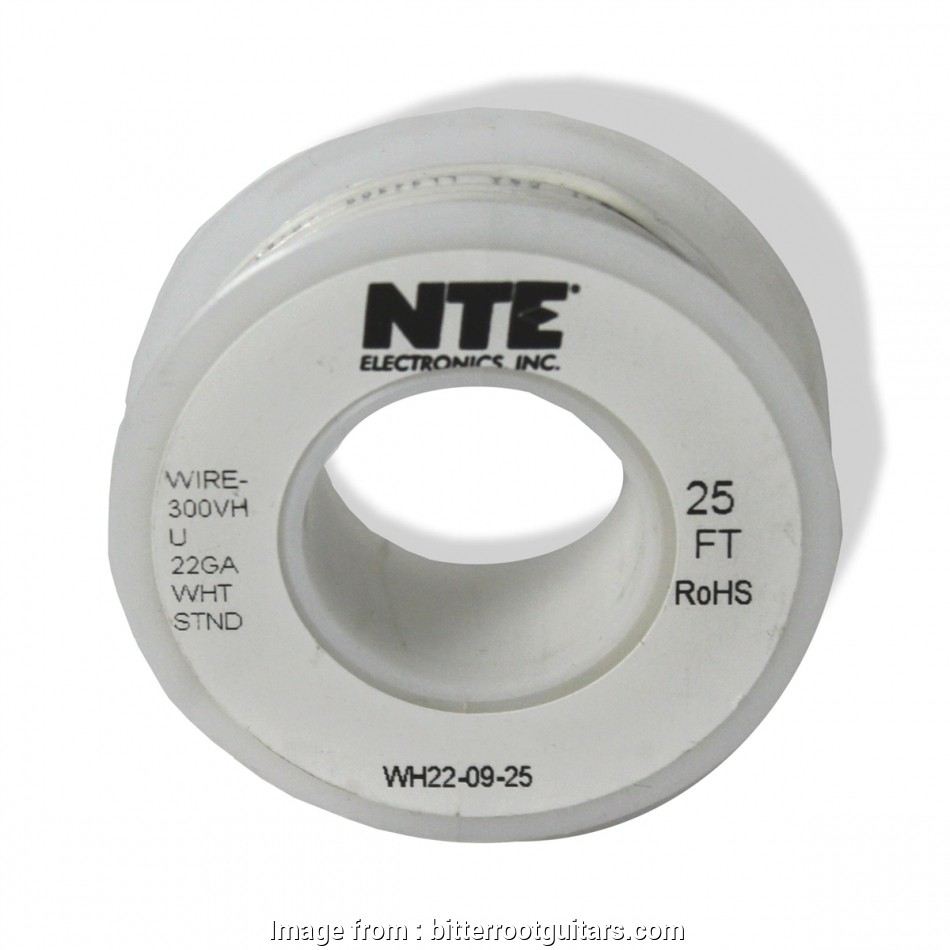 22 gauge wire for guitar ... 22 gauge stranded hookup wire, guitars white. Larger Photo 10 Perfect 22 Gauge Wire, Guitar Solutions