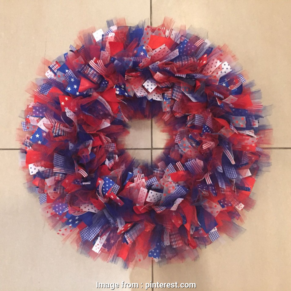 22 Gauge Wire Hobby Lobby New 4Th Of July Wreath Using