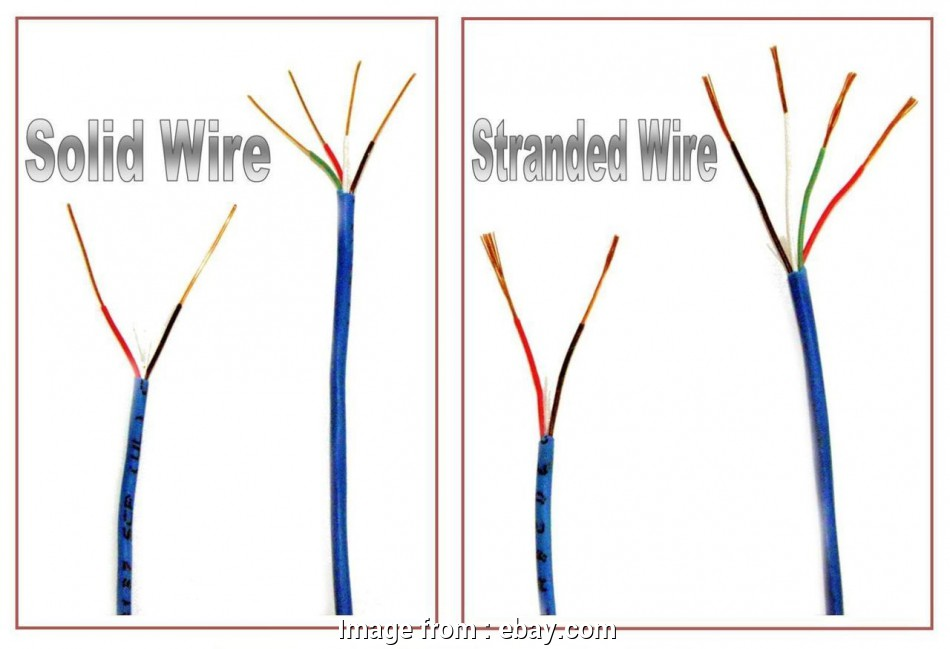 22 gauge wire stranded Details about 22 Gauge 2 Conductor Black Stranded Copper Security Alarm Wire Cable 12 Nice 22 Gauge Wire Stranded Images