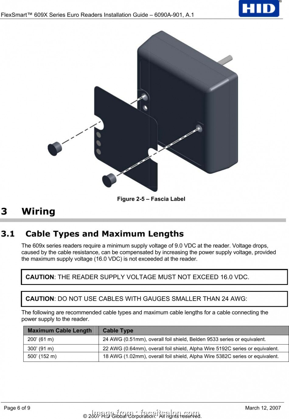 Hid Reader Wiring Diagram from tonetastic.info