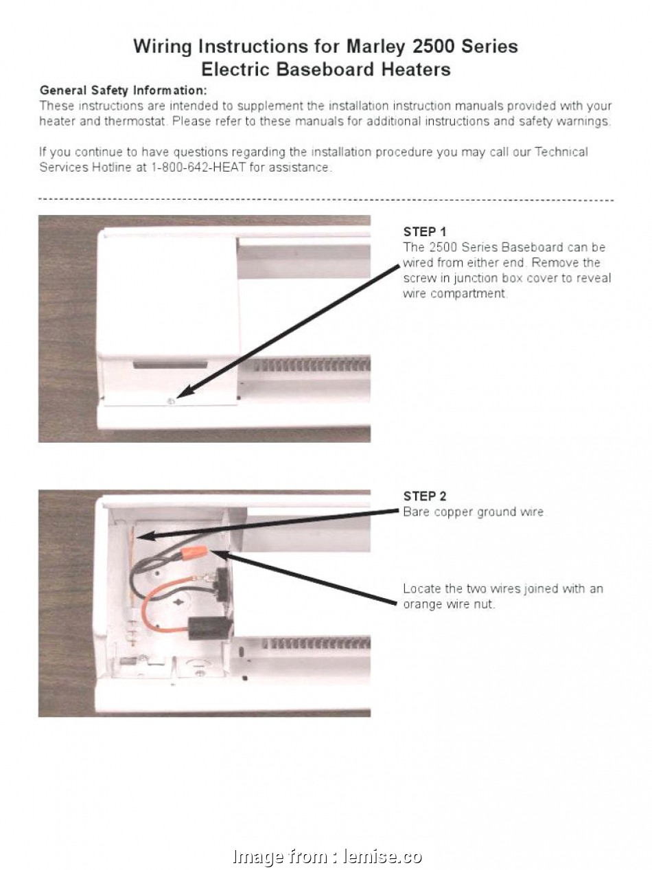 Baseboard Heaters Wiring Diagram from tonetastic.info