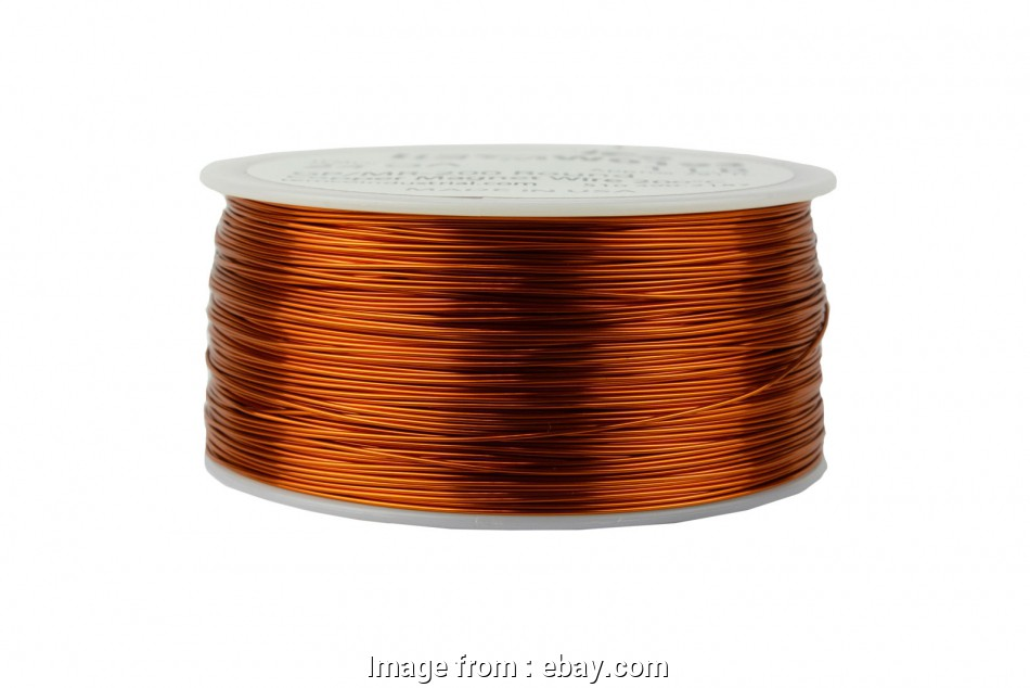 24 gauge enameled copper wire Details about TEMCo Magnet Wire 24, Gauge Enameled Copper 200C, 790ft Coil Winding 17 Practical 24 Gauge Enameled Copper Wire Solutions