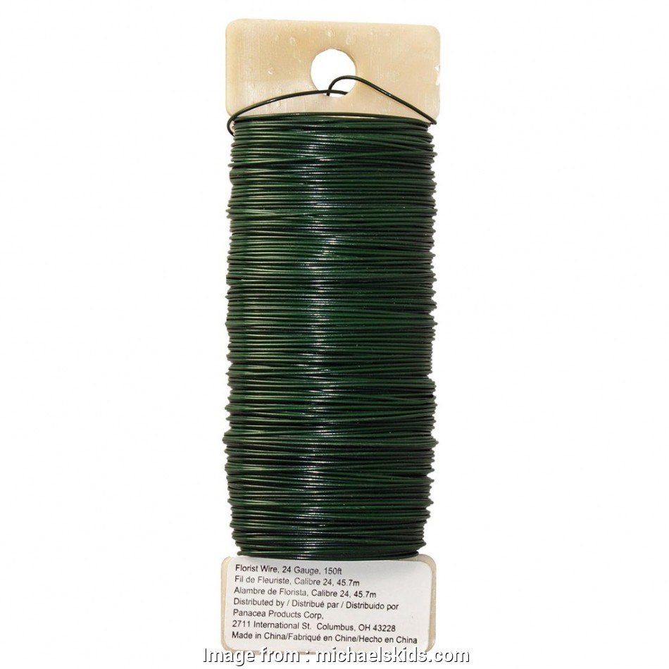 24 gauge green floral wire Panacea™ Green Floral Wire, 24 Gauge 15 Simple 24 Gauge Green Floral Wire Ideas