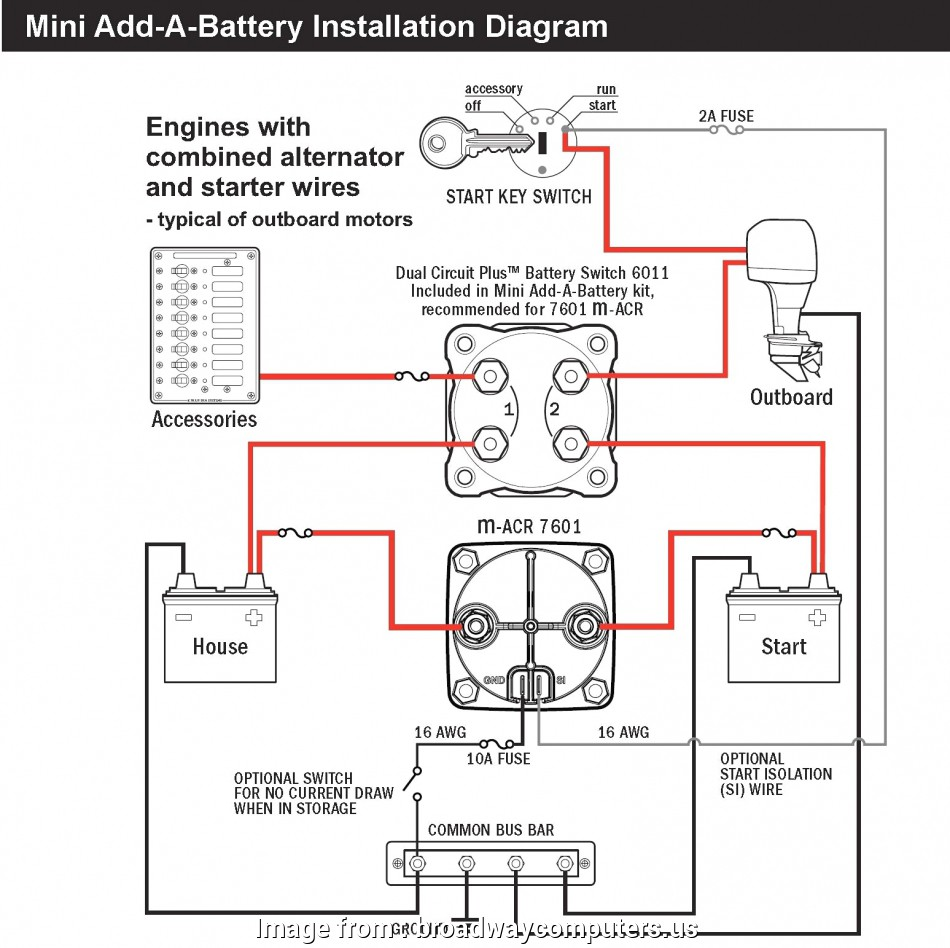 24 Gauge Wire Chart Popular Dual Battery Wiring Diagram
