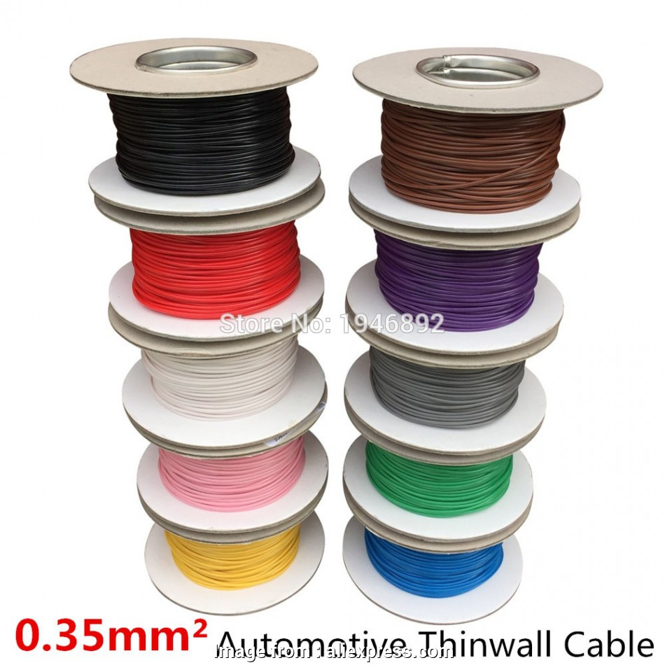 24/0.2 wire gauge 5 Meters/lot 0.75, Auto Cable 12/24V 24/0.2mm Stranded Copper 16 Fantastic 24/0.2 Wire Gauge Images
