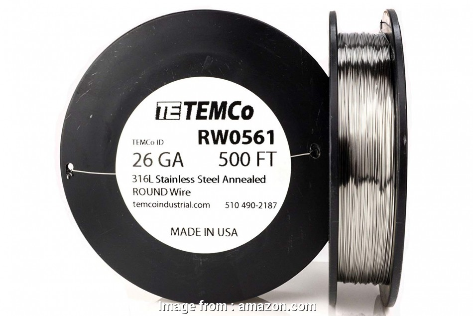 26 gauge 316l stainless steel wire TEMCo Stainless Steel Wire SS 316L, 26 Gauge 1 lb (1468, Non-Resistance, ga, Amazon.com 10 Perfect 26 Gauge 316L Stainless Steel Wire Ideas