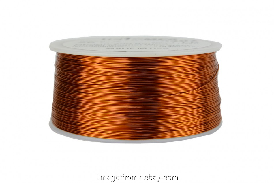 26 gauge enameled magnet wire Details about TEMCo Magnet Wire 26, Gauge Enameled Copper 200C, 1258ft Coil Winding 14 Creative 26 Gauge Enameled Magnet Wire Photos