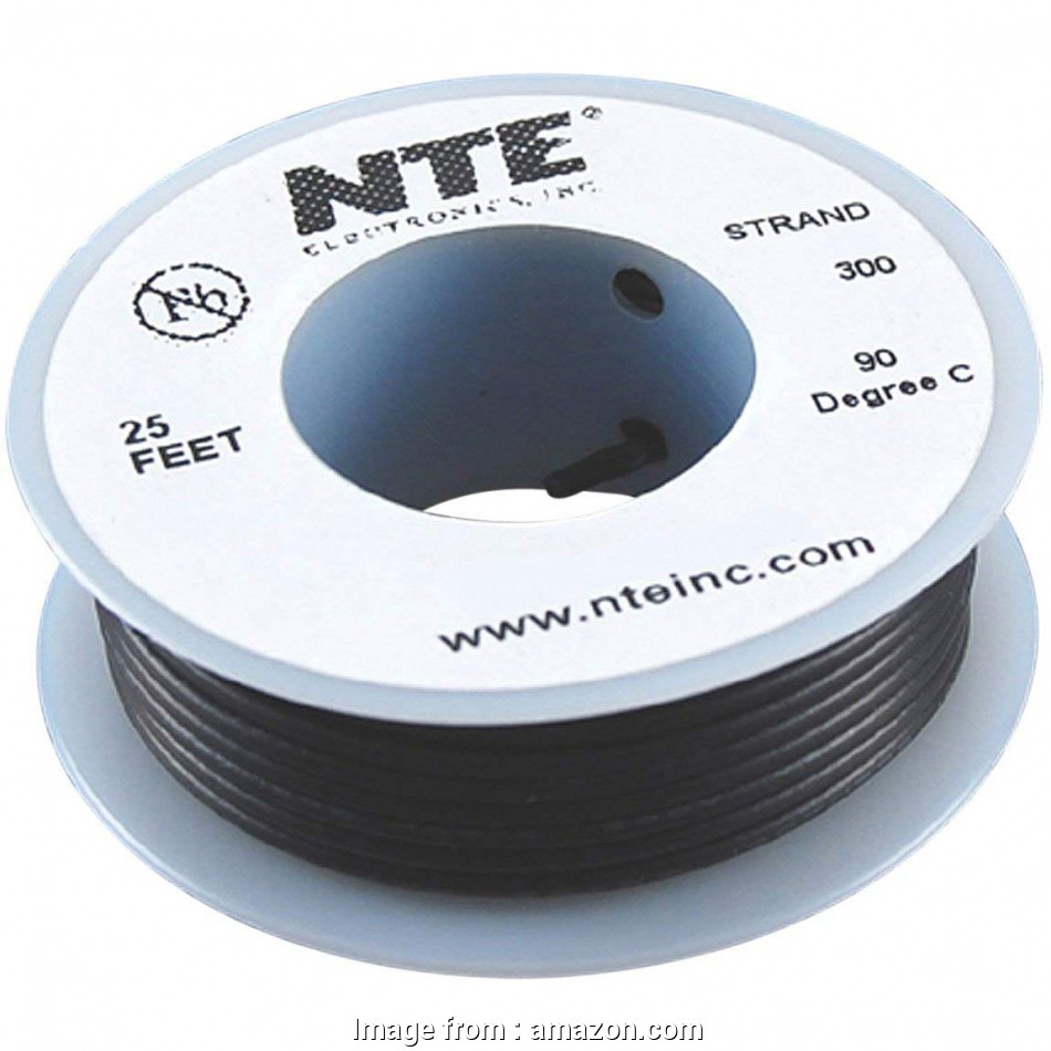 26 gauge hookup wire NTE Electronics WH26-00-25 Hook Up Wire, Stranded, Type 26 Gauge,, Length, Black: Electrical Wires: Amazon.com: Industrial & Scientific 8 Nice 26 Gauge Hookup Wire Photos