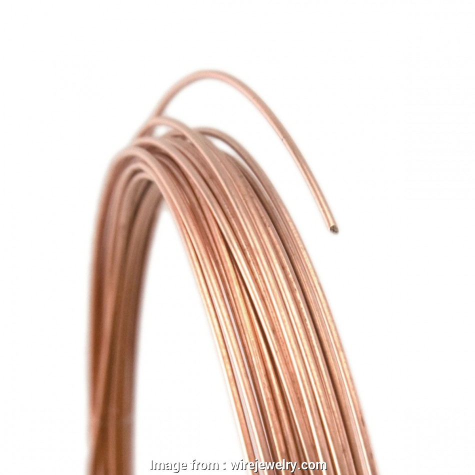 26 gauge rose gold wire 26 Gauge Round Half Hard 14/20 Rose Gold Filled Wire: Wire Jewelry 11 Practical 26 Gauge Rose Gold Wire Solutions