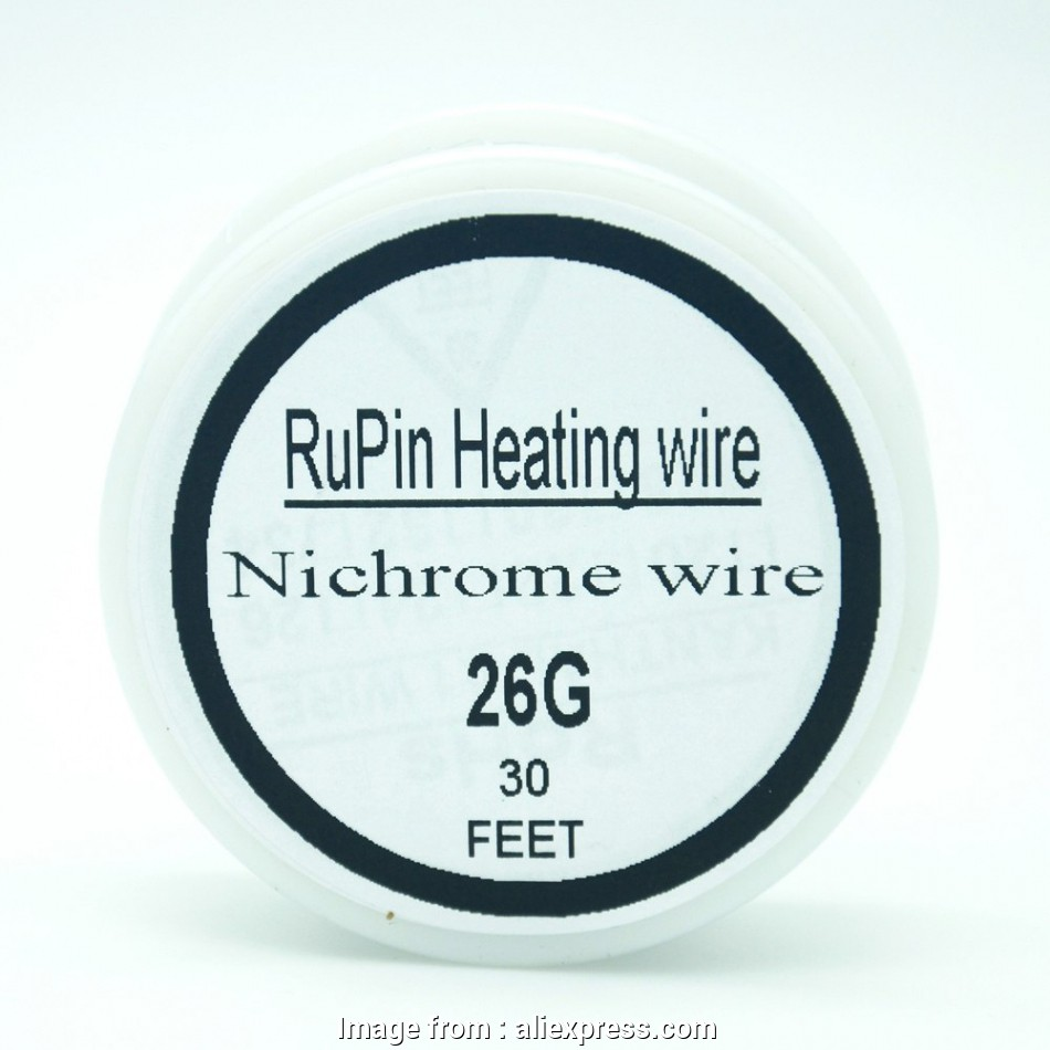 26 vs 30 gauge wire RuPin Heating Wrie Nichrome wire 26 Gauge 30 FT 0.4mm Resistance, Resistor Wire-in Cables from Consumer Electronics on Aliexpress.com, Alibaba Group 10 Fantastic 26 Vs 30 Gauge Wire Images