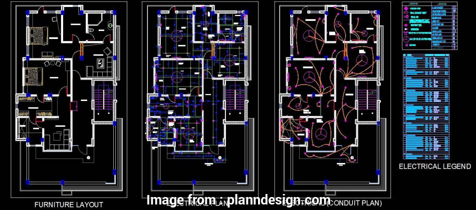 2bhk electrical wiring diagram 2, House Design, Autocad, File, Plan n Design 8 New 2Bhk Electrical Wiring Diagram Images