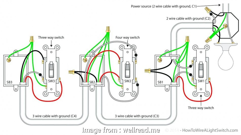 3 gang 3 way switch wiring 4, Dimmer Switch Wiring Diagram 3 Gang Troubleshooting Images, With 9 Best 3 Gang 3, Switch Wiring Images
