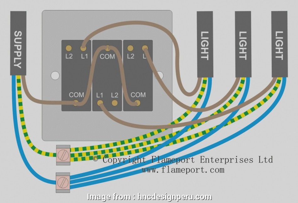 3 gang switch wiring Trend 3 Gang Switch Wiring Diagram, A Single Loft Or Garage Light 13 Fantastic 3 Gang Switch Wiring Photos
