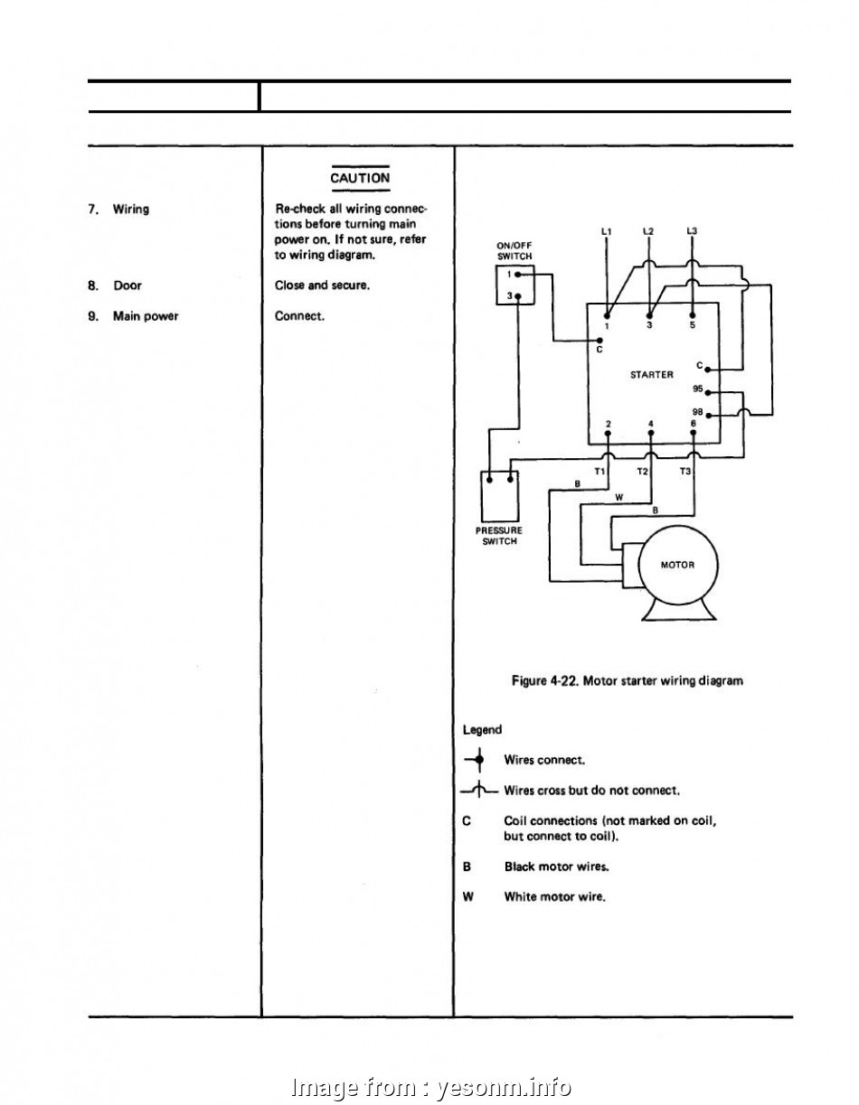 3 Phase Motor Starter Wiring Diagram Pdf Simple Colorful Single Phase Motor Control Diagram