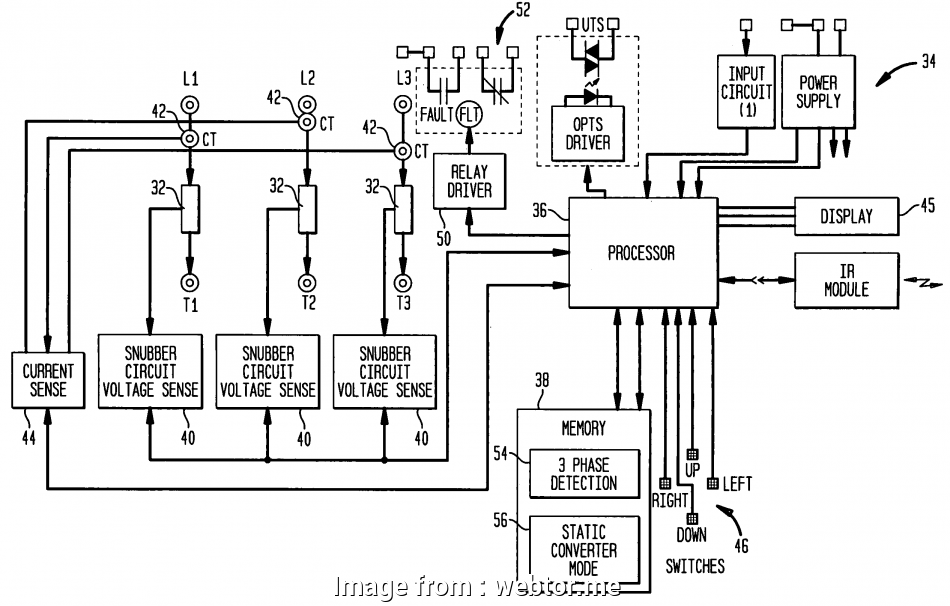 3 Phase Motor Starter Wiring Diagram Star Delta Simple