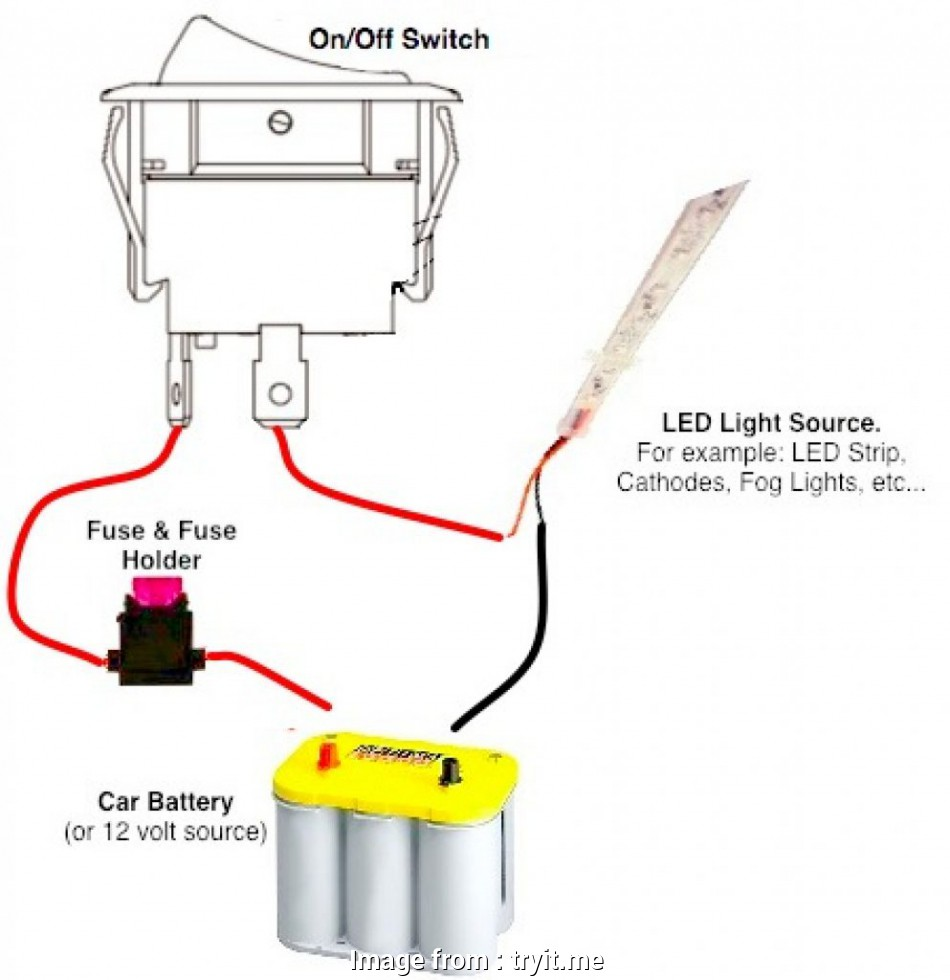 12 Volt 3 Prong Toggle Switch Wiring Diagram