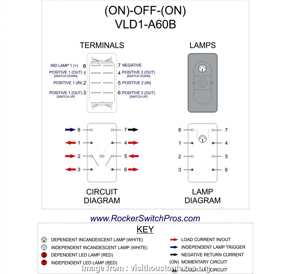 3 Prong Toggle Switch Wiring Diagram Top On  On Toggle