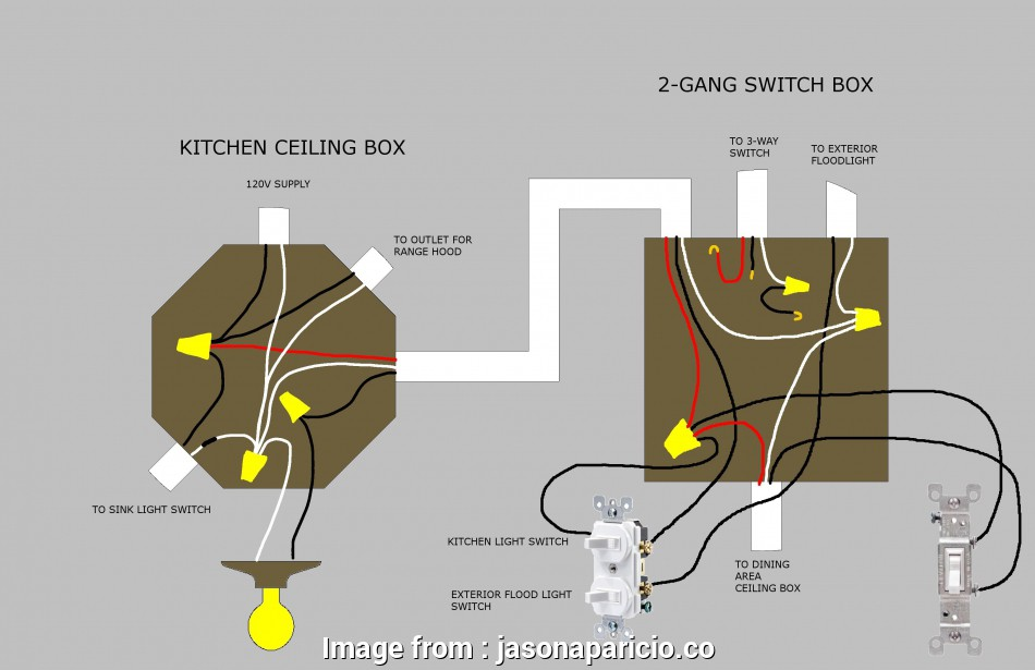 3  Switch Electrical Wiring Diagram Creative Electrical