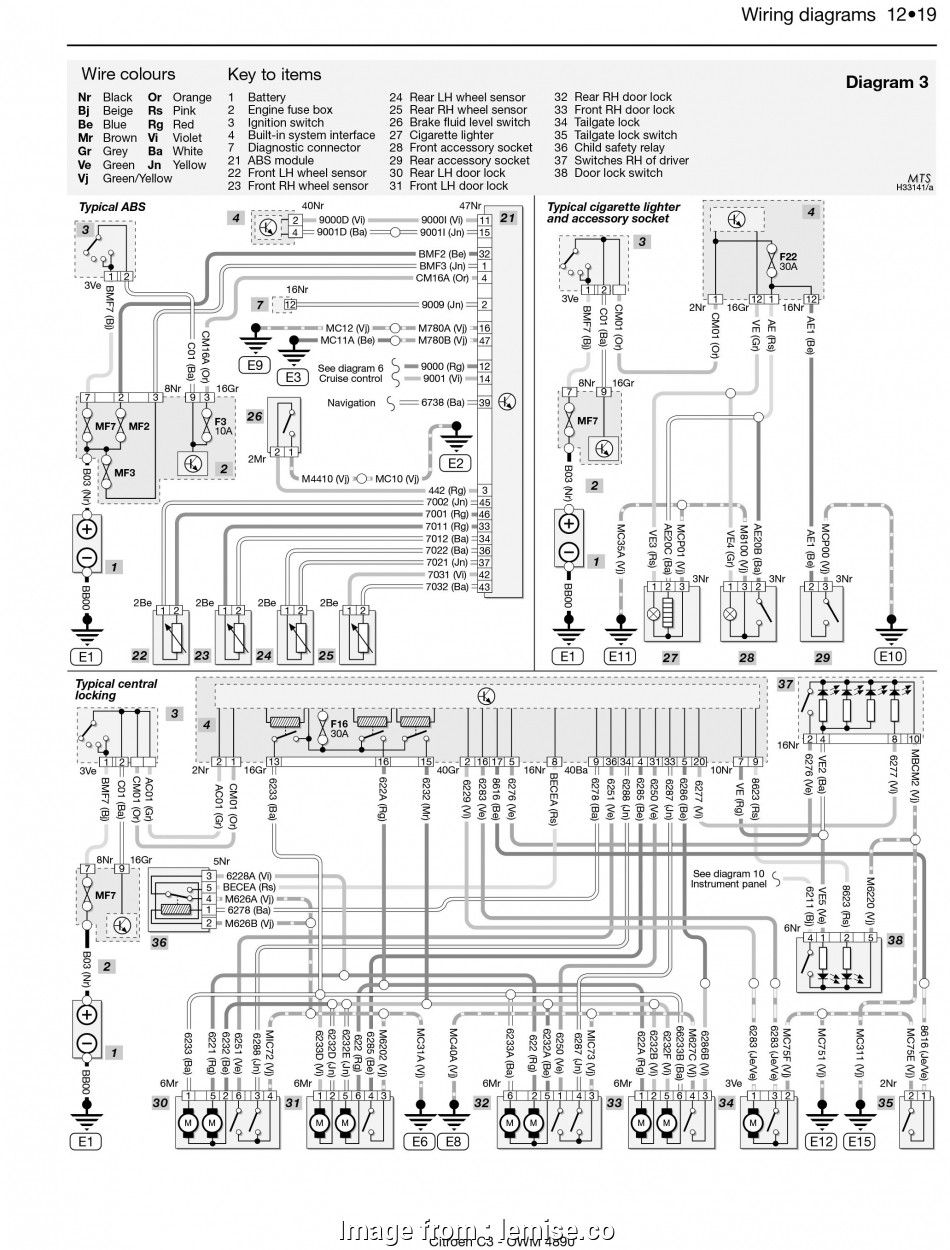 3  Switch Electrical Wiring Diagram Most Saxo Alternator