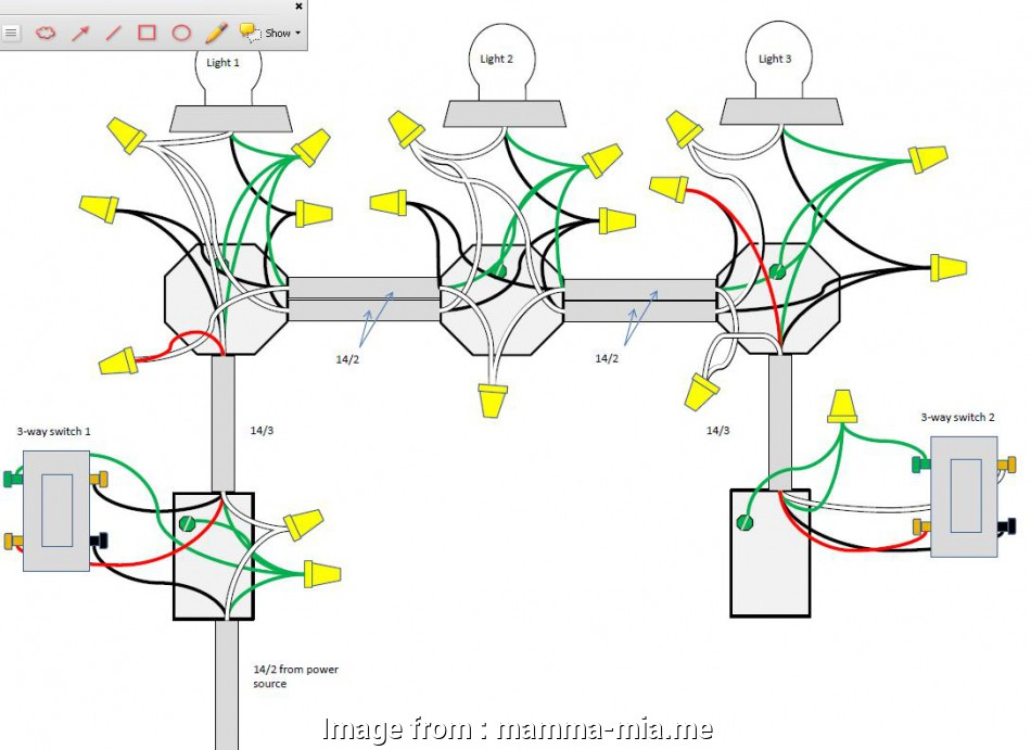 3 way switch wiring diagram multiple lights power at light 3, Switch Wiring Diagram Multiple Lights Webtor Me, For Three Random 2 Wire 20 Most 3, Switch Wiring Diagram Multiple Lights Power At Light Images