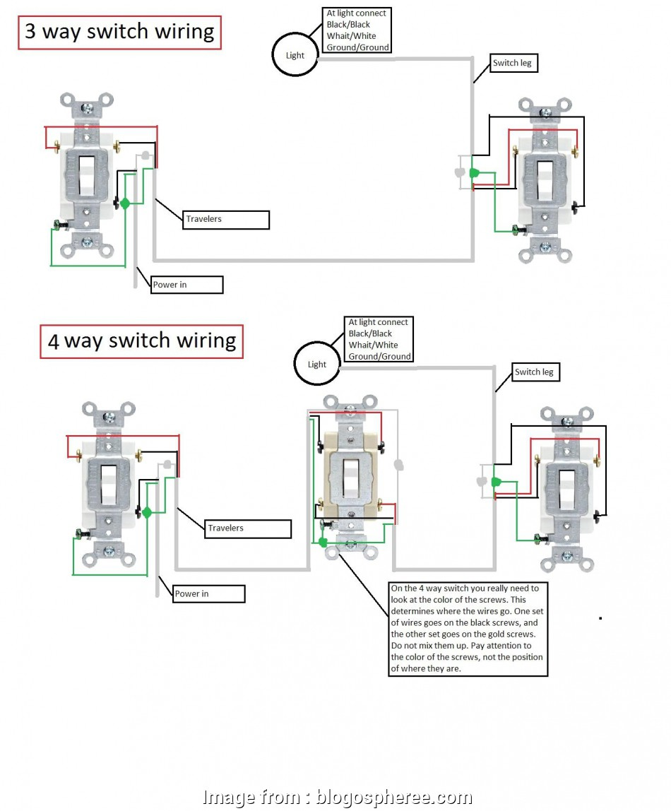 3 way switch wiring old house wiring diagram, 4, light switch, house with