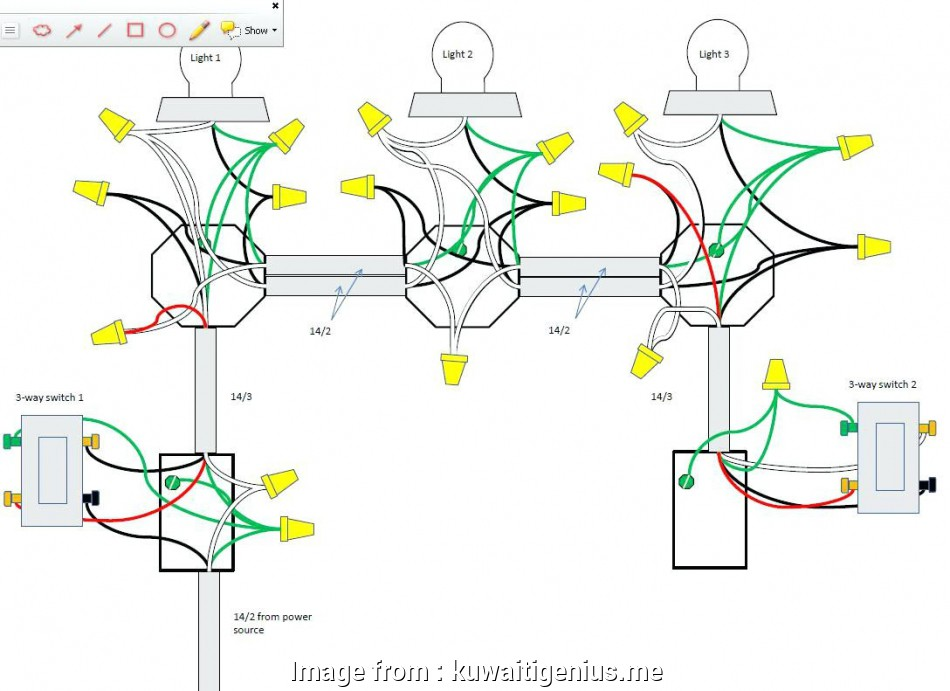 3 way switch wiring to multiple lights Wiring 3, Switch To Multiple Lights Download Diagram At Light 14 Simple 3, Switch Wiring To Multiple Lights Ideas