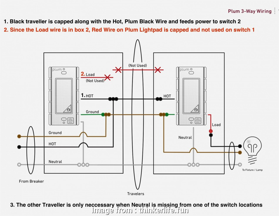 3-way to 2-way switch wiring 2, Switch Wiring Diagram, How To Wire, Way Switch Diagram Best Wiring 8 Practical 3-Way To 2-Way Switch Wiring Galleries