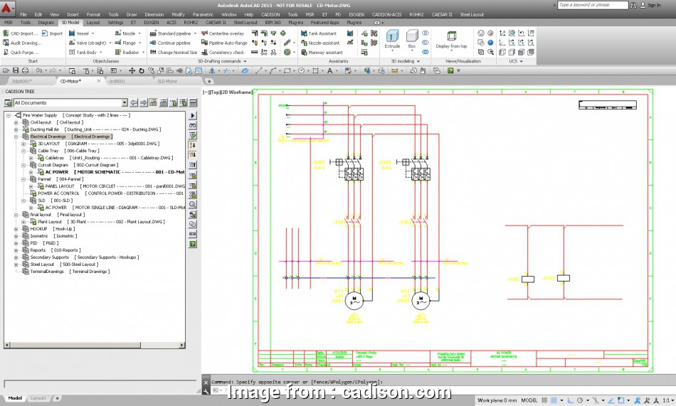 3d electrical wiring diagram software Intelligent SLD's, Circuit Diagrams with CADISON® Electrical Designer 17 Most 3D Electrical Wiring Diagram Software Images